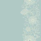 Configuration sans joint de cru floral Images stock