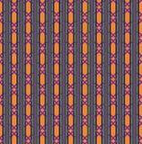 Configuration sans joint de cru Vecteur ethnique texturisé Image stock