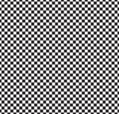 Configuration sans joint de damier Résumé noir et blanc, fond infini géométrique Texture de répétition carrée moderne Photo libre de droits
