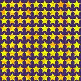Configuration sans joint de disco avec des étoiles Photographie stock
