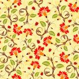 Configuration sans joint de fleur illustration stock