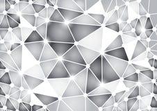 Configuration sans joint de griffonnage géométrique Images stock