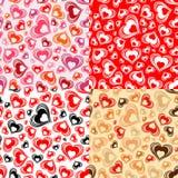 Configuration sans joint de jour de Valentines Images stock