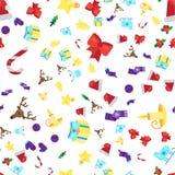Configuration sans joint de Joyeux Noël illustration libre de droits