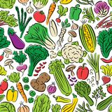 Configuration sans joint de légumes Photos stock