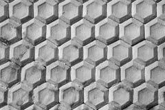 Configuration sans joint de la paroi cellulaire de nid d'abeilles, fait avec vieux peint Photos libres de droits