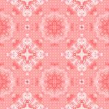 Configuration sans joint de lacet abstrait fleuri Photos libres de droits