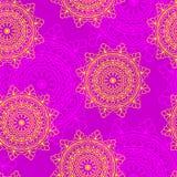Configuration sans joint de mandala Image libre de droits