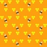 Configuration sans joint de miel illustration stock
