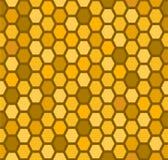 Configuration sans joint de nid d'abeilles Photos stock