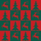 Configuration sans joint de Noël Photos stock