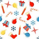 Configuration sans joint de Noël Photo libre de droits