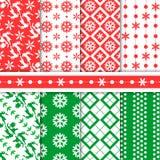 Configuration sans joint de Noël Illustration Stock