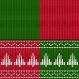 Configuration sans joint de Noël de l'hiver Photo libre de droits