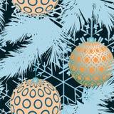 Configuration sans joint de Noël et d'an neuf illustration libre de droits