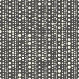 Configuration sans joint de piste Texture chaotique monochrome de vecteur Photos stock