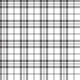 Configuration sans joint de tartan Images stock