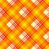 Configuration sans joint de tartan Image libre de droits