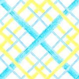 Configuration sans joint de tartan Images libres de droits