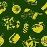 Configuration sans joint de vacances de Noël Photos stock