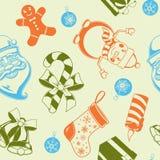 Configuration sans joint de vacances de Noël Photos libres de droits