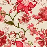 Configuration sans joint de vecteur floral abstrait Photographie stock