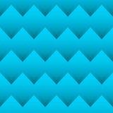 Configuration sans joint de zigzag Photographie stock libre de droits