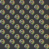 Configuration sans joint des cercles Photo libre de droits