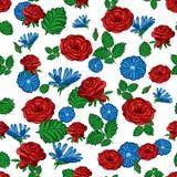 Configuration sans joint des fleurs Image libre de droits