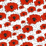 Configuration sans joint des fleurs Images stock