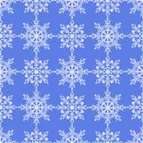 Configuration sans joint des flocons de neige Photo libre de droits