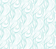 Configuration sans joint des ondes abstraites Image stock