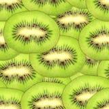 Configuration sans joint des parts vertes de kiwi Image libre de droits