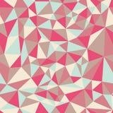 Configuration sans joint des triangles Image stock