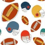 Configuration sans joint du football illustration libre de droits