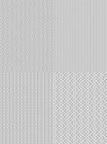 Configuration sans joint en acier abstraite de fond Photographie stock libre de droits