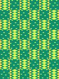 Configuration sans joint ethnique Kente de tissu illustration stock