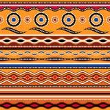 Configuration sans joint ethnique Ornement géométrique traditionnel australien illustration libre de droits