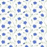 Configuration sans joint florale élégante illustration libre de droits