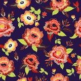 Configuration sans joint florale Images libres de droits