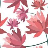 Configuration sans joint florale Photos libres de droits