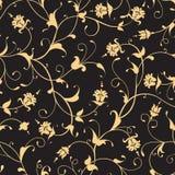 Configuration sans joint florale Image libre de droits