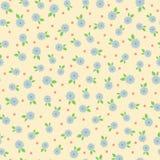 Configuration sans joint florale Photographie stock libre de droits