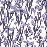 Configuration sans joint florale Images stock
