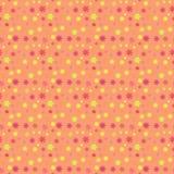 Configuration sans joint florale Image stock