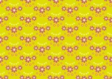 Configuration sans joint florale Photos stock