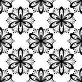 Configuration sans joint florale abrégez le fond Photographie stock