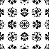 Configuration sans joint florale abrégez le fond Photo libre de droits