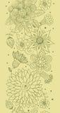 Configuration sans joint florale de source Images stock