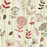 Configuration sans joint florale de source Photographie stock